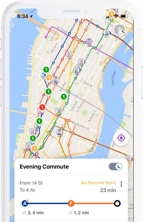 NYC-Specific Transit Apps