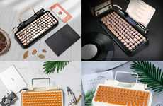Typewriter-Inspired Keyboards