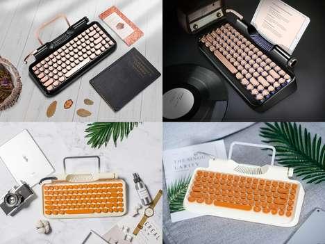 Typewriter-Inspired Keyboards