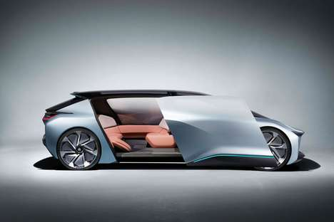 Futuristically Sporty Family Vehicles