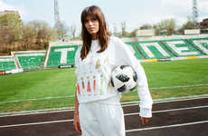Soccer-Inspired Couture Fashion