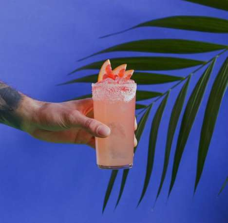 Top 100 Drinking Trends in June - From Artful Rose Lattes to Boozy Lemonade Pop-Ups