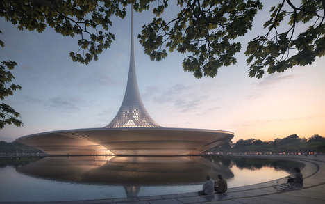 Sustainable Indian City Proposals - Foster + Partners is Planning Andhra Pradesh's New Capital