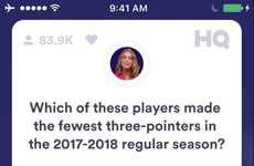 Sports-Themed Trivia Apps - 'HQ Sports' is a Sporty Version of the Hit Trivia Game