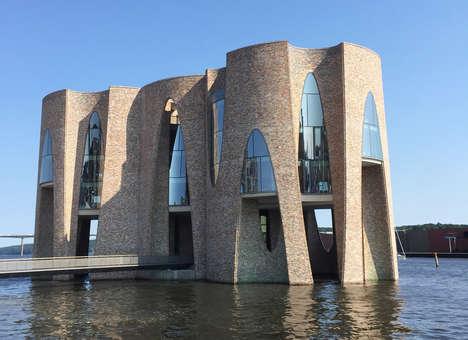 Castle-Inspired Office Buildings