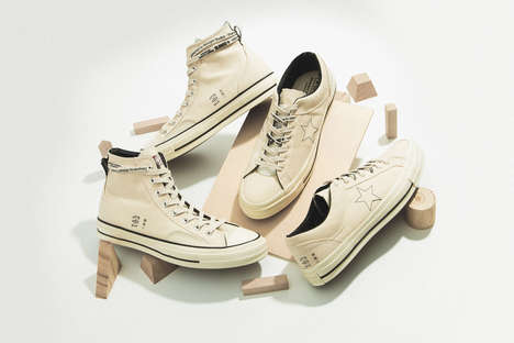 Inside-Out Lifestyle Sneakers - Converse & Midnight Studios Dropped a New Take on Classic Shoes