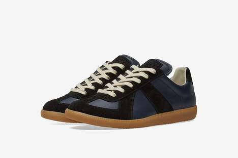 Luxe Tonal Leather Sneakers