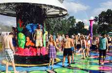 Music Festival Laundry Services - LG's LaundROO Made Life Convenient at Bonnaroo