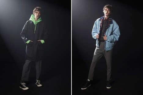 Sports-Inspired Contemporary Menswear