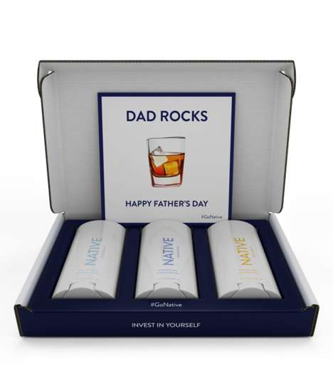 Alcohol-Inspired Deodorants - Native Deodorant's Father's Day Gift Pack Has Bourbon & Gin Scents