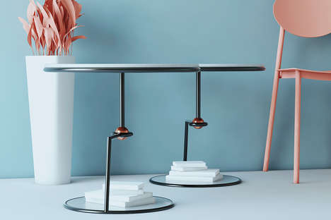 Legless Levitating Side Tables