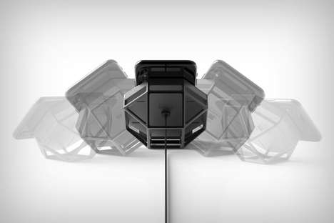Skeletal Geometric Wireless Chargers