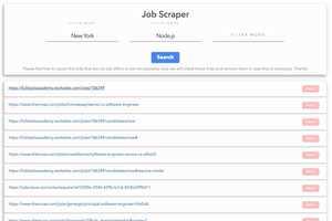 Streamlined Job Searchers