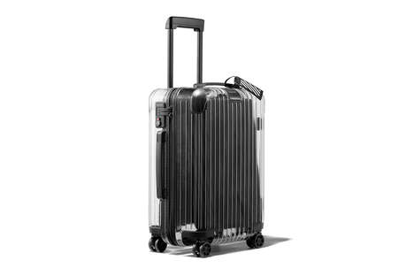 Translucent Polycarbonate Luggage - RIMOWA and Off-White™ Collaborate on a Range of Suitcases
