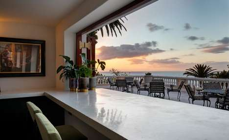 Luxe Private Mansion Hotels - The Ellerman House Hotel Features the New Bar Roc Restaurant