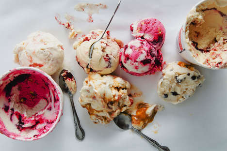 Unconventional Seasonal Ice Creams