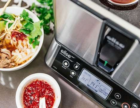 Dual-Purpose Sous Vide Appliances - The Oliso Cooking System Performs Induction Preparation and More