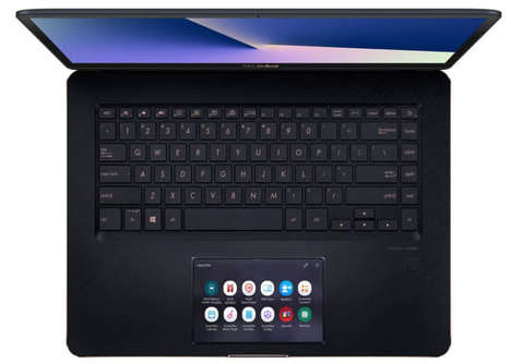 Navigational Touchscreen Pad Laptops