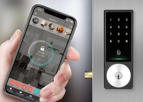 Advanced Encryption Smart Locks