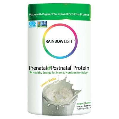 Prenatal Protein Powders - Rainbow Light's Prenatal & Postnatal Protein is Offered in Creamy Vanilla