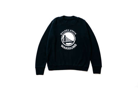 NBA-Themed Cashmere Knits