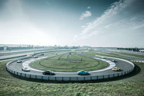 Immersive Driving Events - The Porsche Track Experience Helps Drivers Perfect Niche Skills