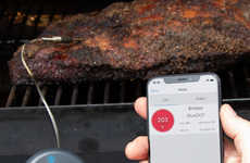 Smartphone-Connected Meat Thermometers
