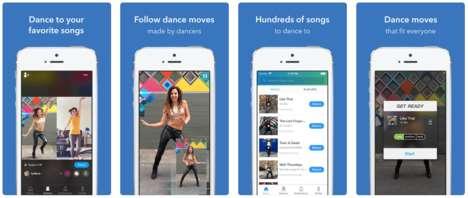 App-Based Dance Lessons