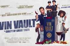 Cinematic Wine Commercials - Vin Vault Wines' Movie-Style Ad Introduces Its New Boxed Packaging