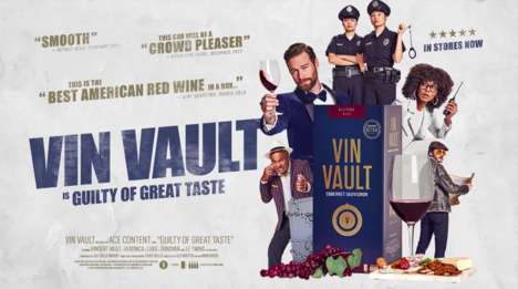 Cinematic Wine Commercials