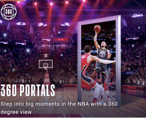Trend maing image: AR Courtside Experiences