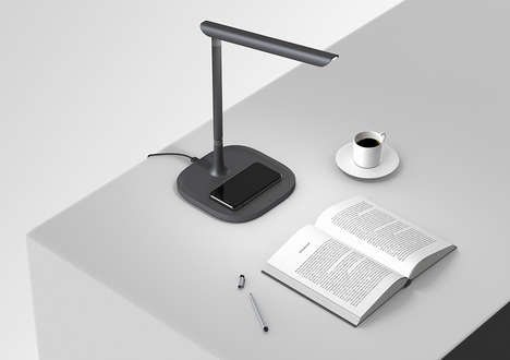 Smartphone-Disabling Desk Lamps