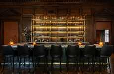 Hidden Hotel Speakeasies - 63 Wall Street's New Speakeasy is a Luxe Residents-Only Lounge