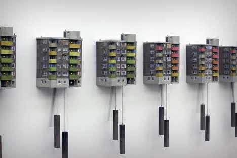 Urban Building Cuckoo Clocks