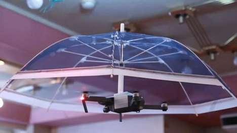 Hands-Free Drone Umbrellas