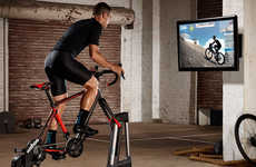 Ride-Elevating Cyclist Trainers - The Wahoo Fitness 'KICKR CLIMB' Grade Simulator is Intense