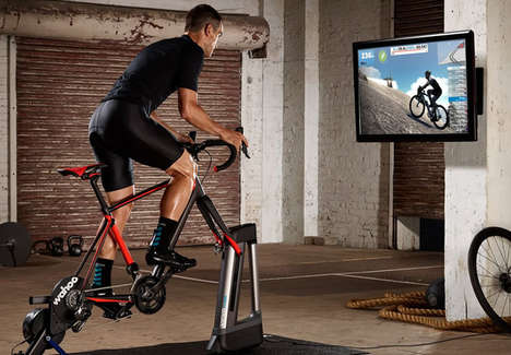 Ride-Elevating Cyclist Trainers