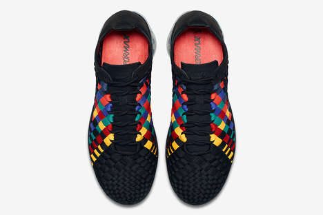 Thread-Detailed Hybrid Sneakers