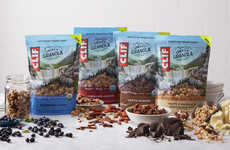 Energizing Plant Protein Granolas - Clif Energy Granola Features Eight Grams of Plant-Based Protein
