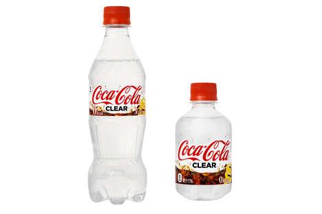 Zero-Calorie Clear Sodas