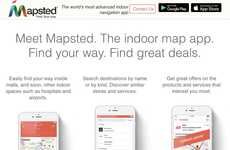 Indoor Navigational Solutions - 'Mapsted' Offers Advanced Navigation in Malls, Stores and Beyond