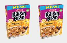 Natural Potassium-Packed Cereals - The Kellogg's Raisin Bran with Bananas is Tasty and Nutritious