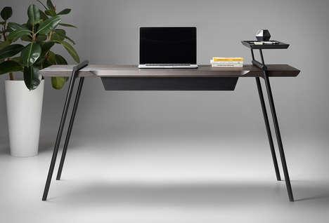 Minimalist Veneer Desks