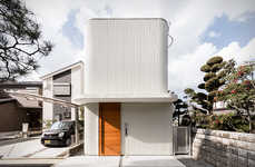 Greenery-Integrated Family Houses - The Melt House is a Modern and Open Home for Various Lifestyles
