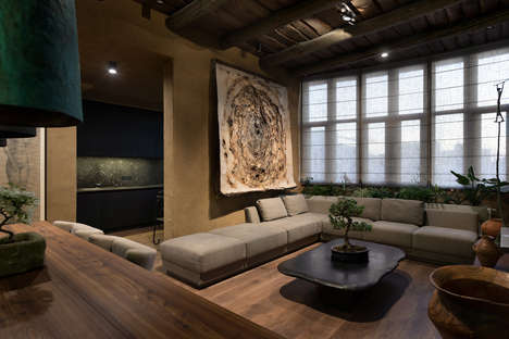 Culture-Blending Homey Interior Designs