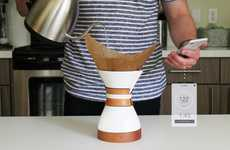 Smart Pour-Over Coffee Brewers