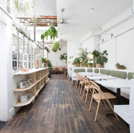 Lush Vietnamese Restaurant Interiors