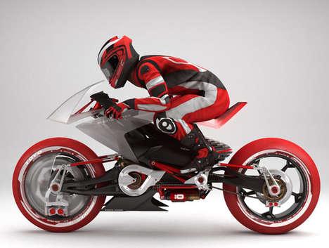 Conceptual Italian Racer Motorcycles