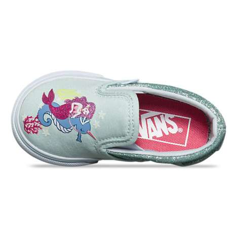 Aquatic-Themed Toddler Shoes
