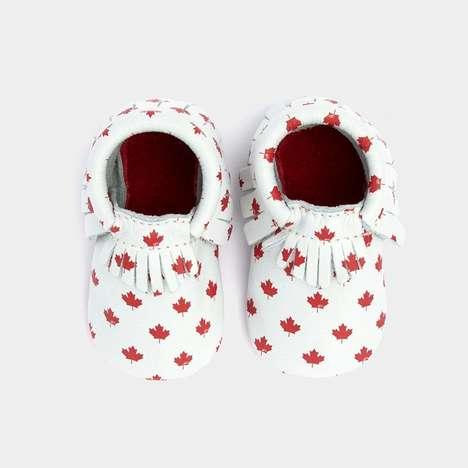 Patriotic Baby Shoes